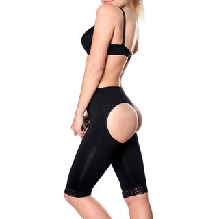 Women's Nylon Seamless Waist-slimming and Butt-lifting Thigh Trimmer Shapewear