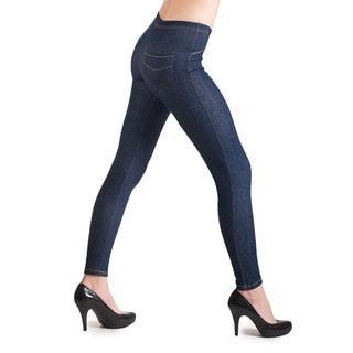 HoneyComfy Back Pocket Jean Leggings