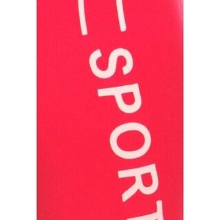 HoneyComfy Sport Print Athletic Capri Leggings