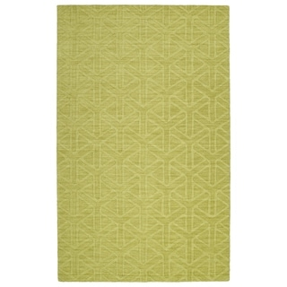 Trends Wasabi Prism Wool Rug (8'0 x 11'0)