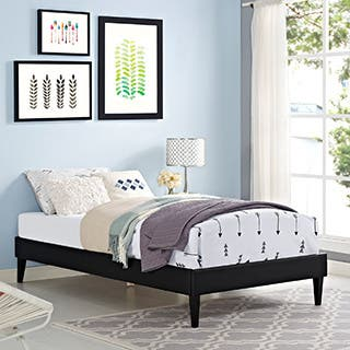 Sharon Wood Twin Size Platform Bed