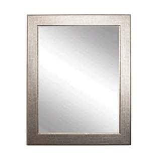 Multi Size BrandtWorks Subway Silver-colored Wall Mirror - Champagne/Silver