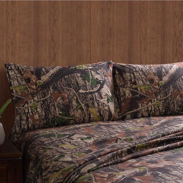 Remington Printed Lodge Sheet Sets