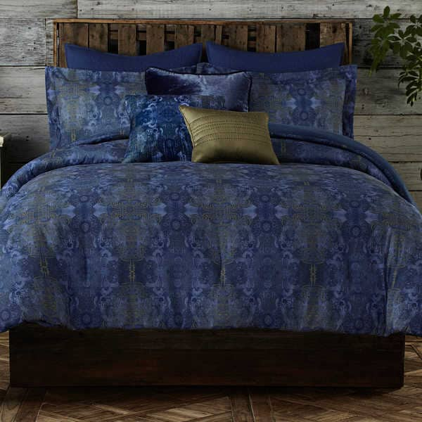 Poetic Wanderlust by Tracy Porter Gigi Damask Duvet Set with Shams