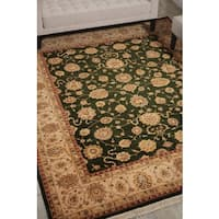 Nourison Royalty Emerald Area Rug (7'9 x 9'9) - 7'9 x 9'9