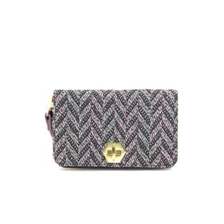 Shiraleah Women's 'Dana' Purple Textile Handbag