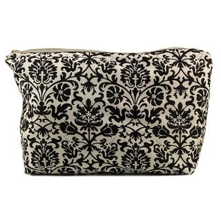 Urban Expressions Women's Cosmo Fabric Large Cosmetic Bag