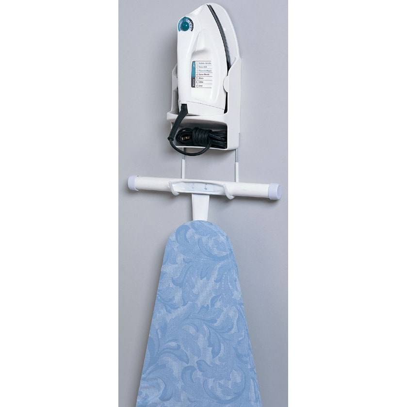 Household Essentials 166-1 Plastic Iron & Board Holder (I...