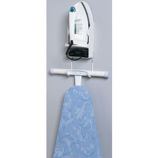 Household Essentials 166-1 Plastic Iron & Board Holder