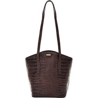 Hidesign Bonn Brown Leather Classic Shoulder Handbag