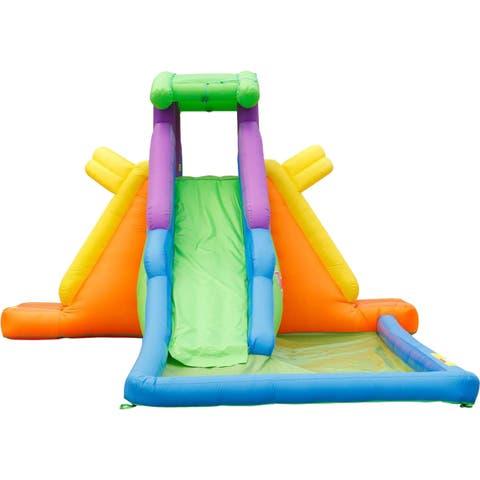 KidWise Dueling 2 Back to Back Water Slide