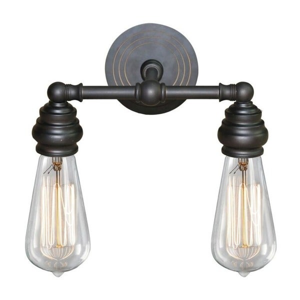 exposed lighting office ydecor 2light metal vanity fixture with exposed bulb style shop