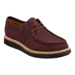 Women's Clarks Glick Bayview Moc Toe Shoe Aubergine Goat Nubuck|https://ak1.ostkcdn.com/images/products/125/145/P19066341.jpg?impolicy=medium