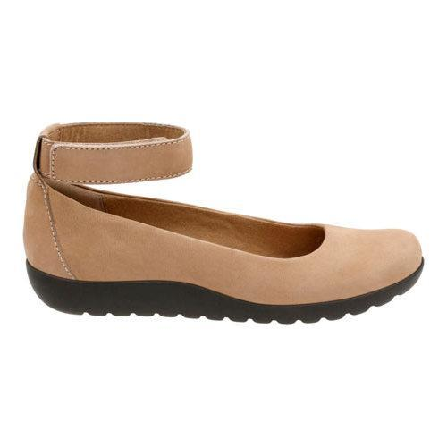 1c5b1d230bad ... Thumbnail Women  x27 s Clarks Medora Nina Ankle Strap Shoe Dark Brown  Goat Nubuck ...