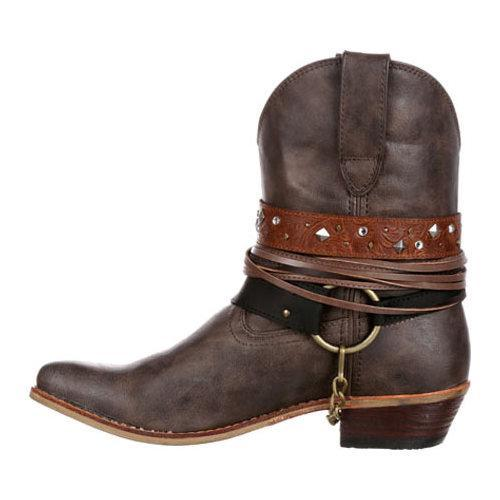 ... Women's Durango Boot DRD0121 6in Durango Crush Boot Brown Faux  Leather