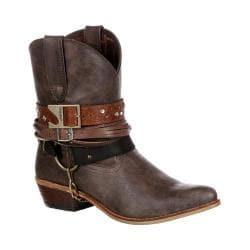 Women's Durango Boot DRD0121 6in Durango Crush Boot Brown Faux Leather