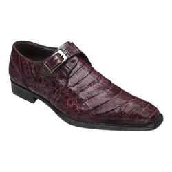 Men's Mezlan Gables Burgundy Genuine Crocodile