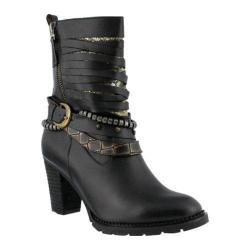 Women's L'Artiste by Spring Step Makos Bootie Black Leather
