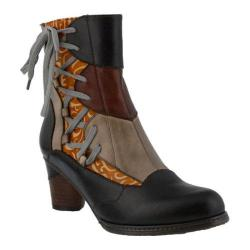 Women's L'Artiste by Spring Step Mia Bootie Black Multi Leather