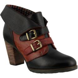 Women's L'Artiste by Spring Step Saaho Bootie Black Multi Leather