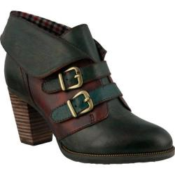 Women's L'Artiste by Spring Step Saaho Bootie Olive Multi Leather