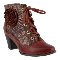 Women's L'Artiste by Spring Step Sufi Bootie Bordeaux Leather