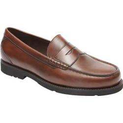 Men's Rockport Oak Knoll Shakespeare Circle New Burnished Brown Leather