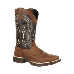 Men's Durango Boot DDB0094 12in Rebel Boot Tan/Chocolate Leather/Faux Leather