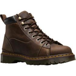 Men's Dr. Martens Alderton Padded Collar Ankle Boot Brown/Black Kingdom/PU
