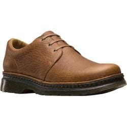 Men's Dr. Martens Hazeldon 3 Tie Shoe Tan Grizzly