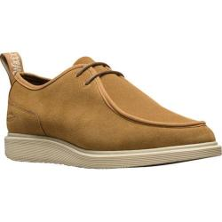 Men's Dr. Martens Leverton 2 Eye Moc Toe Shoe Biscuit Hi Suede