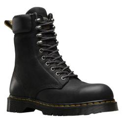 Men's Dr. Martens Rufford Electrical Hazard Steel Toe 10 Tie Boot Black Wyoming