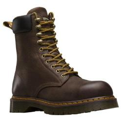 Men's Dr. Martens Rufford Electrical Hazard Steel Toe 10 Tie Boot Dark Brown Wyoming
