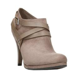Women's Fergalicious Crissy Bootie Chateau Grey Synthetic Suede