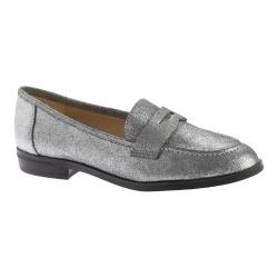Women's Nine West Antonecia Loafer Pewter Metallic