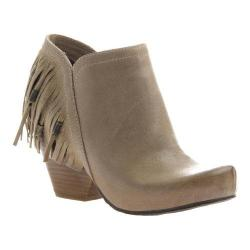 Women's OTBT Folkloric Fringe Bootie Desert Leather