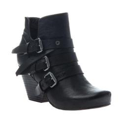 Women's OTBT Lasso Bootie Black Leather