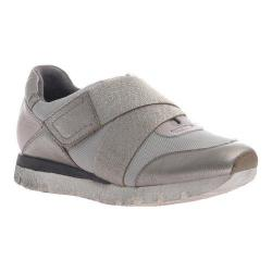 Women's OTBT New Wave Sneaker Light Pewter Leather/Synthetic