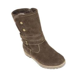 Women's White Mountain Powder Winter Boot Brown Suede