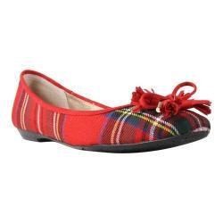 Women's J. Renee Eaden Flat Red Multi Fabric