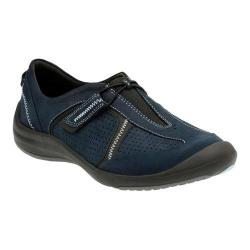 Women's Clarks Asney Slip-on Shoe Navy Nubuck