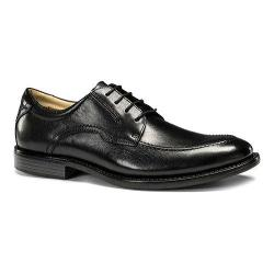 Men's Dockers Franklin Moc Toe Derby Black Polished Full Grain Leather