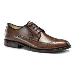 Men's Dockers Robertson Wingtip Derby Chili Burnished Full Grain Leather