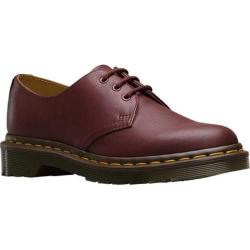 Women's Dr. Martens 1461 3-Eyelet Shoe Cherry Red Virginia