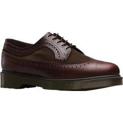Men's Dr. Martens 3989 Brogue Shoe Charro/Dark Brown Brando/Hi Suede WP