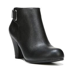 Women's Fergalicious Mallory Bootie Black Synthetic Leather
