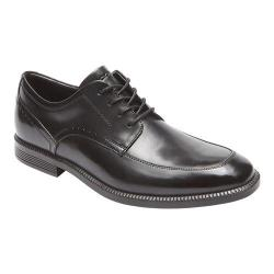 Men's Rockport Dressports Business Apron Toe Oxford Black Leather
