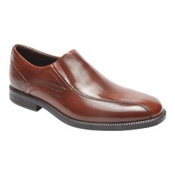 Men's Rockport Dressports Business Bike Toe Slip On New Brown Leather
