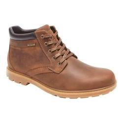 Men's Rockport Rugged Bucks Waterproof Boot Boston Tan