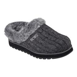 Women's Skechers BOBS Keepsakes Ice Storm Clog Slipper Charcoal